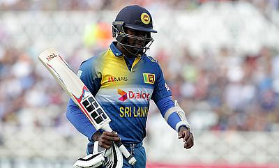 Angelo Mathews scored a fifty and picked two wickets as well.
