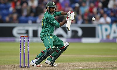 Sarfraz Ahmed scored 90 off 73 deliveries.