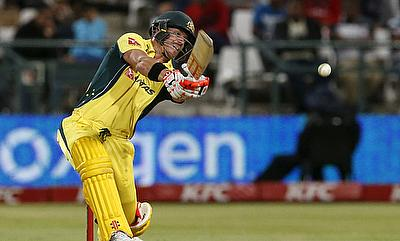 David Warner scored a match-winning century for Australia in the final game.