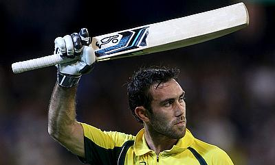 Glenn Maxwell became the third Australian to score a century in T20Is.