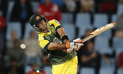Glenn Maxwell scored a blistering century in the first T20I against Sri Lanka.