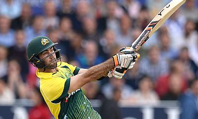 Glenn Maxwell scored 66 runs from 29 deliveries.