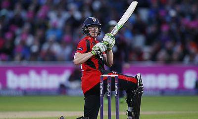 Keaton Jennings scored a double century for Durham