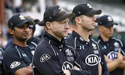 Gareth Batty (centre) led Surrey team to Royal London One-Day Cup final