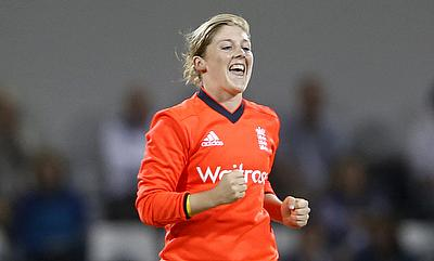 Heather Knight is delighted the series is on track.