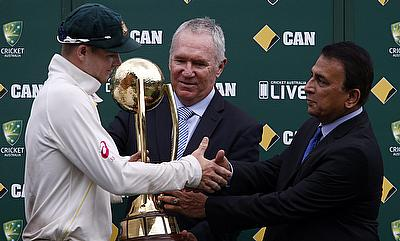 Australia currently hold the Border-Gavaskar trophy