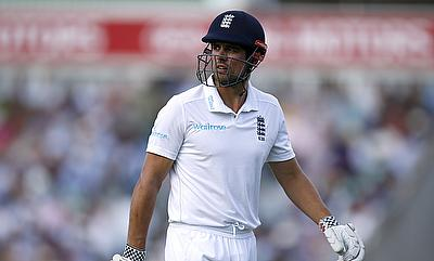 Alastair Cook struggled in both the innings of the first Test in Chittagong.