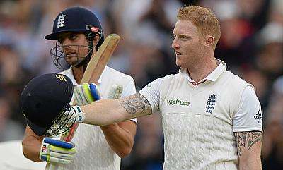 Alastair Cook (left) believes Ben Stokes (right) is an integral part of the England squad