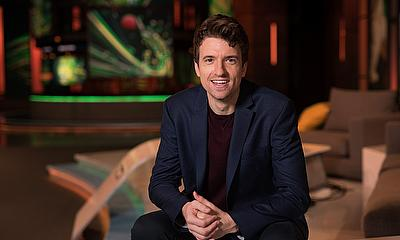 Greg James will front the cricket show on BT Sport