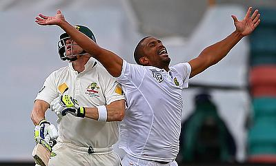 Vernon Philander (right) was impressive for South Africa