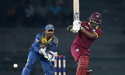 Darren Bravo (left) has been dropped from the tri-series squad as well