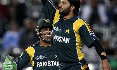 Pakistan all-rounder Shahid Afridi