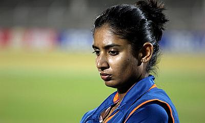 Mithali Raj top scored for India with an unbeaten 49