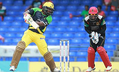 Chris Gayle (left) successfully led Jamaica Tallawahs to title win last season