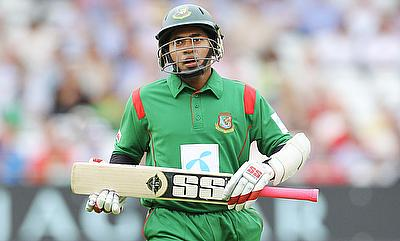 Mushfiqur Rahim top scored for Bangladesh with 45 runs