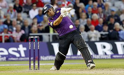 Aaron Finch led from the front with a blistering 63