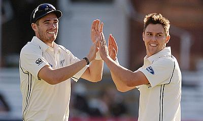 Both Tim Southee (left) and Trent Boult (right) are given some rest to remain fresh for Test cricket