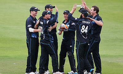 New Zealand have taken a 1-0 lead in the three-match series