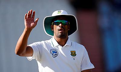 Vernon Philander picked three wickets on day two of the first Test against Sri Lanka