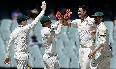 Mitchell Starc picked four wickets on the final day