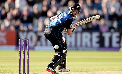 Kane Williamson remained unbeaten on 95