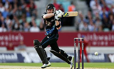 Brendon McCullum remained unbeaten on 50 off 31 deliveries