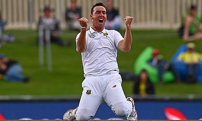 Kyle Abbott has signed a four-year Kolpak deal with Hampshire
