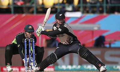 Colin Munro (right) has been in top form for New Zealand