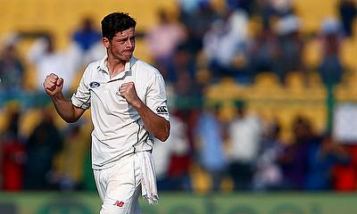 Mitchell Santner scored 73 and effected two wickets as well