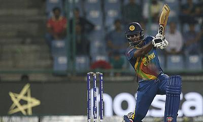 Angelo Mathews suffered the injury during the second T20I against South Africa in Johannesburg