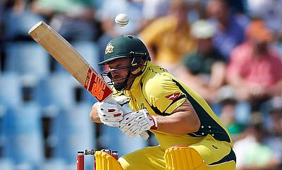 Aaron Finch was named the captain after Matthew Wade was ruled out of the series