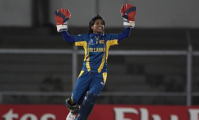 Prasadini Weerakkody top-scored with 61 runs