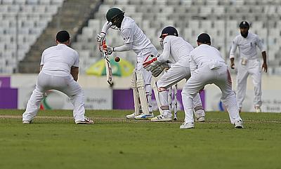 Shakib Al Hasan top scored with 82 runs