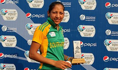 Shabnim Ismail came up with a match winning performance