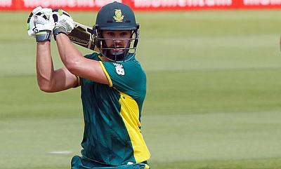 Rilee Rossouw scored his second successive fifty