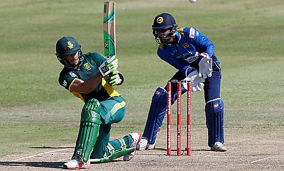 Faf du Plessis scored a match-winning knock of 185 in the fourth ODI