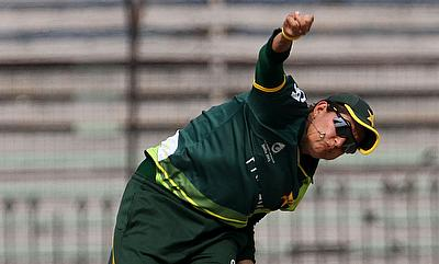 Sana Mir picked a five-wicket haul in the game.
