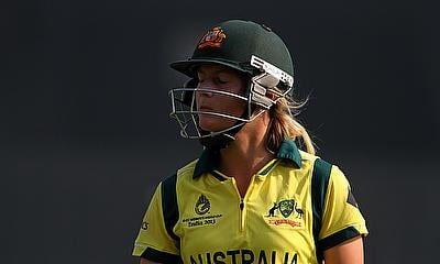 Meg Lanning scored 60 for Australia Women