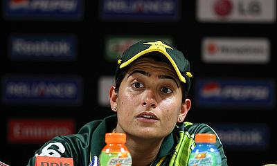Sana Mir had a disappointing day for Pakistan