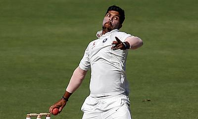 Umesh Yadav bowled with a lot of fire on day one