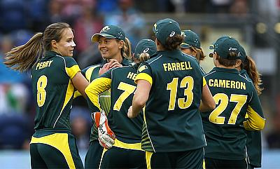 Ellyse Perry (left) returns to Australia squad