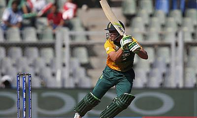 AB de Villiers led from the front for the Proteas
