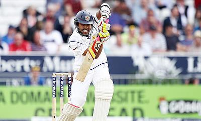 Dinesh Chandimal scored an unbeaten 50