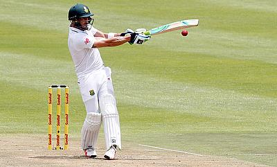 Faf du Plessis scored an unbeaten 50