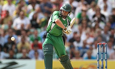 William Porterfield's century went in vain for Ireland