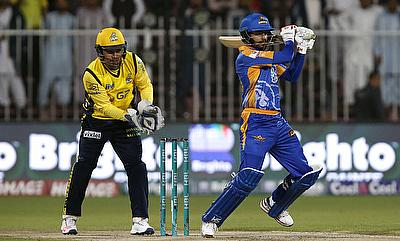 Kamran Akmal (left) was the leading run-scorer in PSL 2017