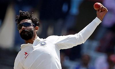 Ravindra Jadeja picked nine wickets in the Ranchi Test