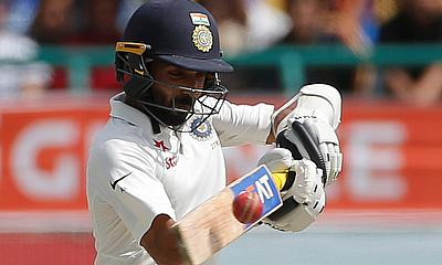 Ajinkya Rahane looked at his fluent best on the final day
