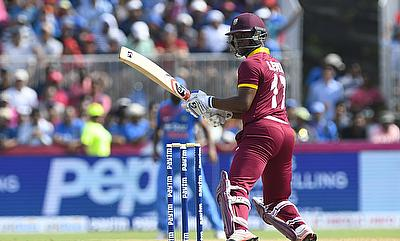 Evin Lewis knock came off just 51 deliveries
