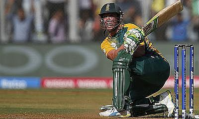AB de Villiers will miss the first game of the tournament with a back injury